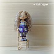 Куклы и игрушки handmade. Livemaster - original item BLUEBERRY Mood.Textile Doll.Author`s Interior Doll.. Handmade.