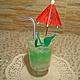 """Мыло-коктейль """"Мохито"""" с ухаживающим маслом авокадо и ароматом """"Мохито""""."""