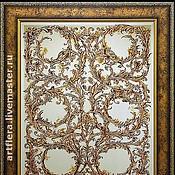 """Для дома и интерьера ручной работы. Ярмарка Мастеров - ручная работа Зеркало """"Старинное зеркало"""".. Handmade."""