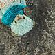 Мишки Тедди ручной работы. Ярмарка Мастеров - ручная работа. Купить небесный медвежонок. Handmade. Бирюзовый, опилки древесные