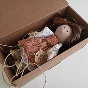 Куклы и игрушки ручной работы. Ярмарка Мастеров - ручная работа Шоколад. Текстильная интерьерная кукла. Handmade.