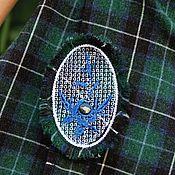 """Одежда ручной работы. Ярмарка Мастеров - ручная работа Теплая юбка """"Сиринэ"""" в темно-зеленой гамме.. Handmade."""