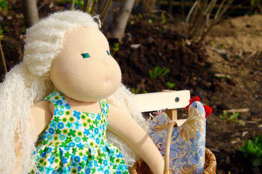 Вальдорфская игрушка ручной работы. Ярмарка Мастеров - ручная работа. Купить Лялека. Handmade. Вальдорфская кукла, кукла, натуральные игрушки
