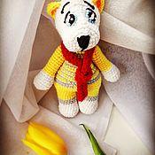 Мягкие игрушки ручной работы. Ярмарка Мастеров - ручная работа Белый мишка. Handmade.