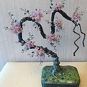 Цветы и флористика ручной работы. Ярмарка Мастеров - ручная работа Сакура бонсай. Handmade.