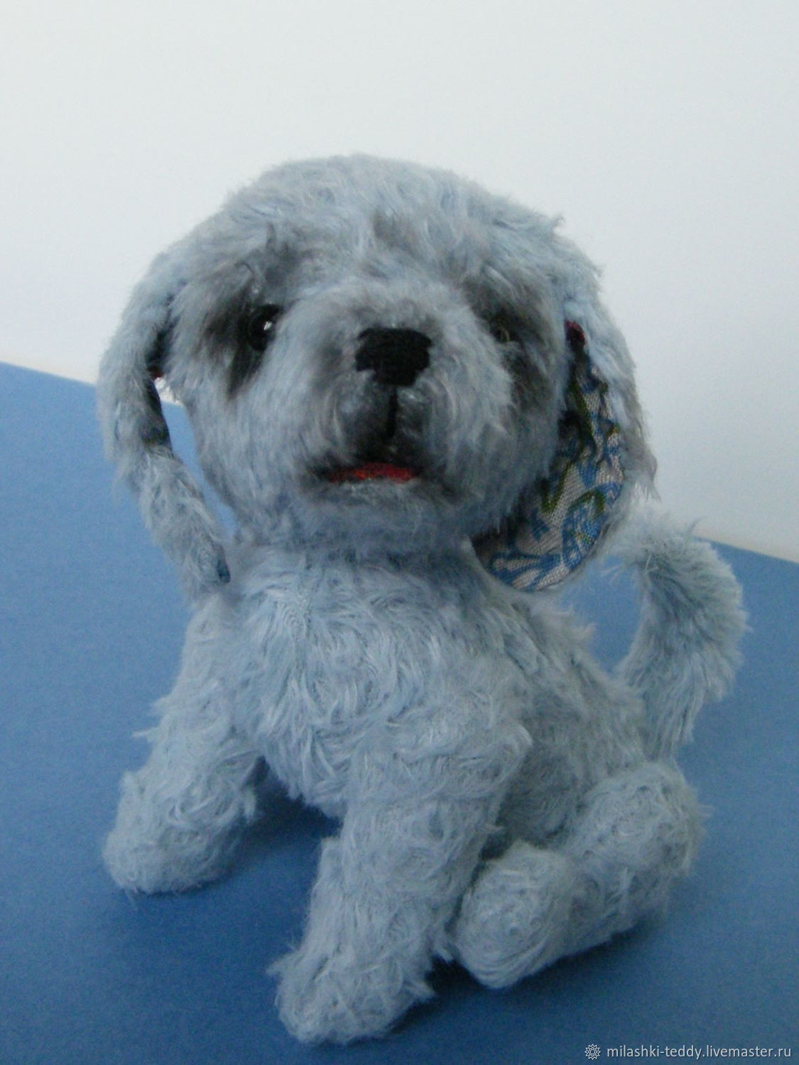 Blue Puppy, Stuffed Toys, Moscow,  Фото №1