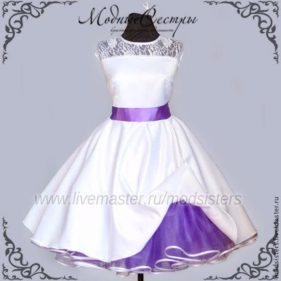 Women's dress 'White lilac' Art.146, Dresses, Nizhny Novgorod,  Фото №1
