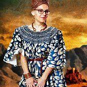 Картины и панно ручной работы. Ярмарка Мастеров - ручная работа Любящая Африку 60х40см, портрет маслом, живопись. Handmade.