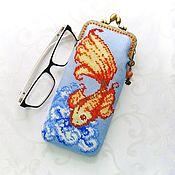 Сумки и аксессуары handmade. Livemaster - original item Case for glasses, smartphone