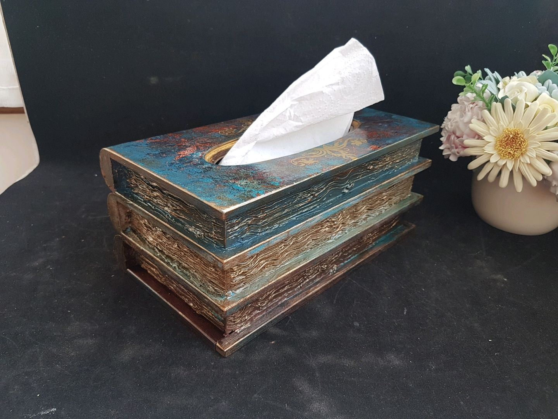 Napkin holder ,,Books,, for rectangular napkins, Napkin holders, Riga,  Фото №1