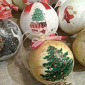 Подарки к праздникам handmade. Livemaster - original item Christmas balls. Handmade.