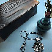 Шкатулка из дерева для украшений