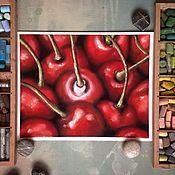 Картины и панно ручной работы. Ярмарка Мастеров - ручная работа Вишнёвый сок. Handmade.