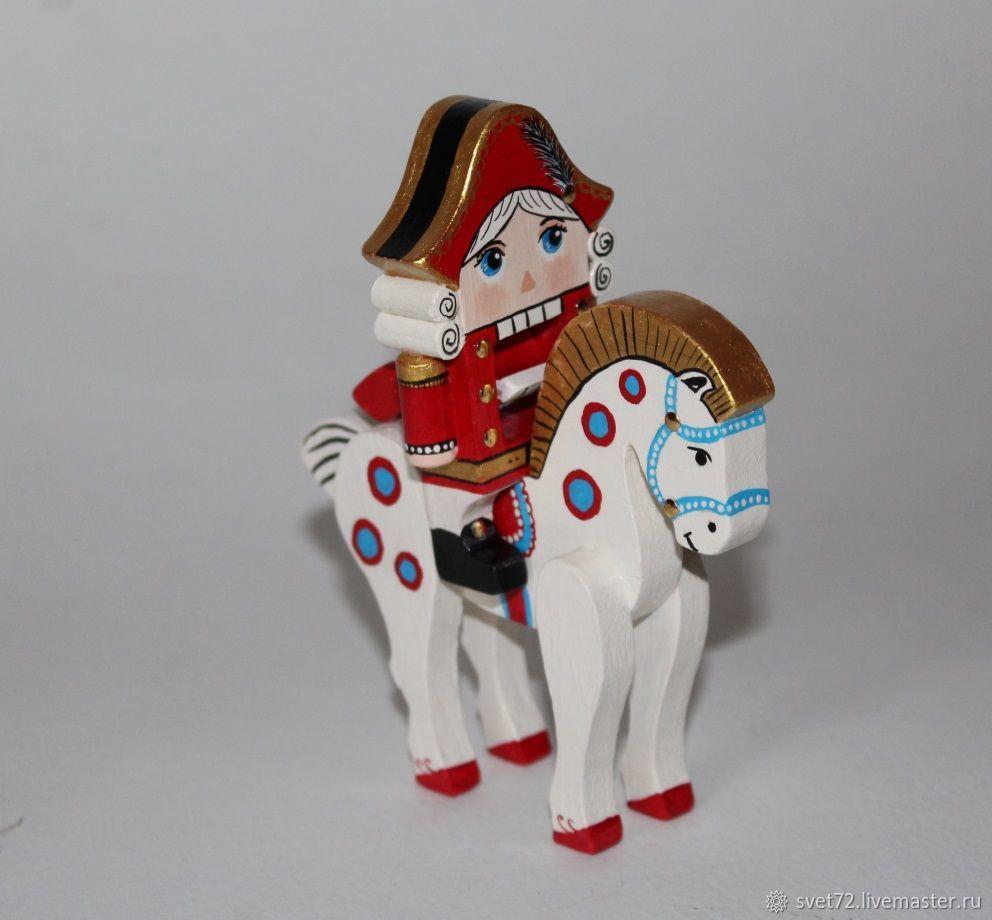 Щелкунчик на лошадке, Куклы Тильда, Москва,  Фото №1