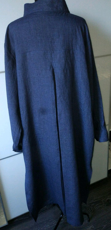 332c481bc62 Авторская одежда Валерия Ахапкина Большие размеры ручной работы. Заказать  Рубашка - платье длинная из льна.