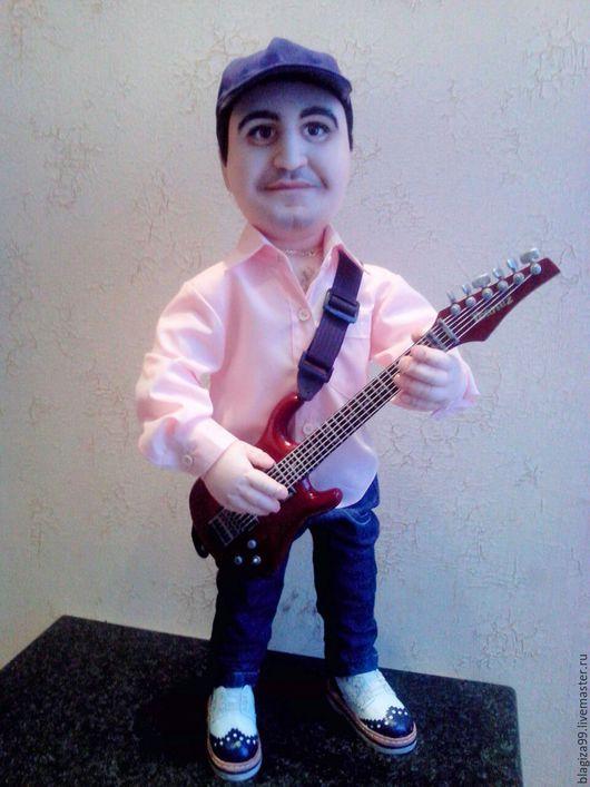 Портретные куклы ручной работы. Ярмарка Мастеров - ручная работа. Купить Портретная  кукла по фото. Handmade. Портретная кукла, капрон