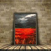 Картины ручной работы. Ярмарка Мастеров - ручная работа Картина «Отражение заката». Handmade.
