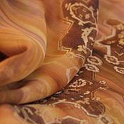 """Материалы для творчества ручной работы. Ярмарка Мастеров - ручная работа Шелк-шифон """"Марокко"""". Цена за отрез. Handmade."""