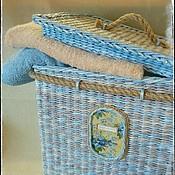 """Для дома и интерьера ручной работы. Ярмарка Мастеров - ручная работа Короб """"Монтерано"""". Handmade."""