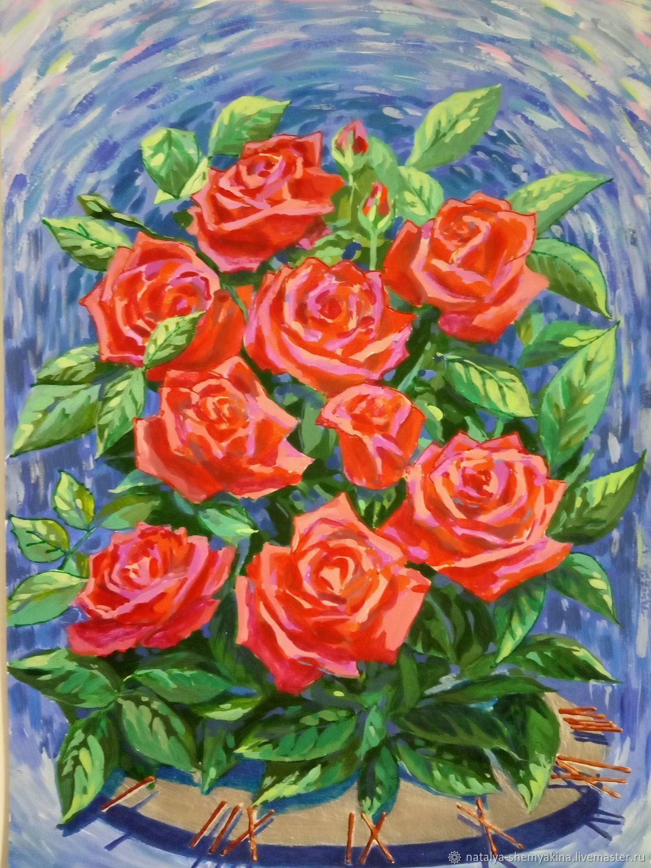 Время и розы, Картины, Уфа,  Фото №1