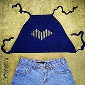 Одежда ручной работы. Ярмарка Мастеров - ручная работа Кроп-топ. Handmade.