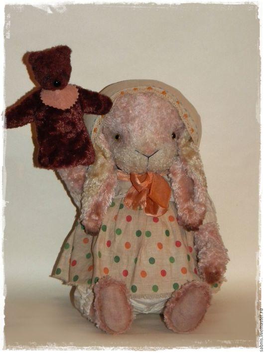 Мишки Тедди ручной работы. Ярмарка Мастеров - ручная работа. Купить Жил-был мишка...... Handmade. Комбинированный, крольчишка