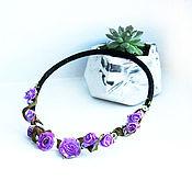 Necklace handmade. Livemaster - original item Necklace: PROVENCE necklace open. Handmade.