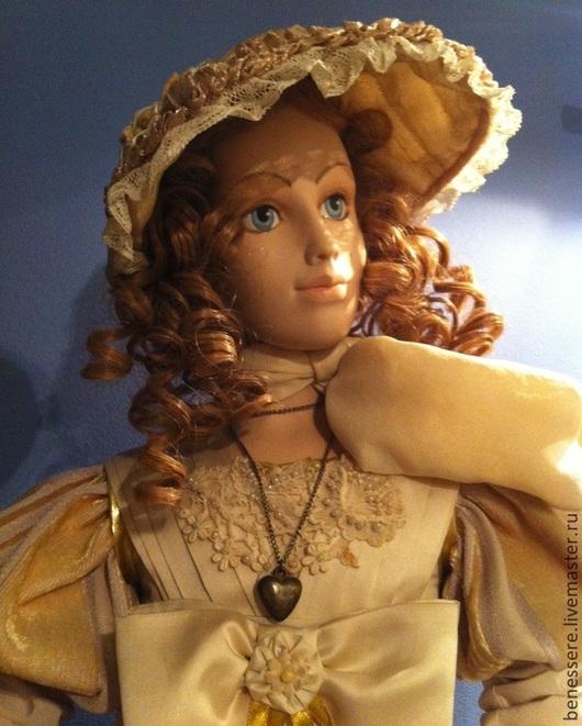 Коллекционные куклы ручной работы. Ярмарка Мастеров - ручная работа. Купить Авторская фарфоровая кукла. Handmade. Интерьерная кукла
