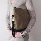 Сумки и аксессуары handmade. Livemaster - original item Leather bag. Handmade.