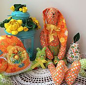 Куклы и игрушки ручной работы. Ярмарка Мастеров - ручная работа Солнечный Заяц. Handmade.