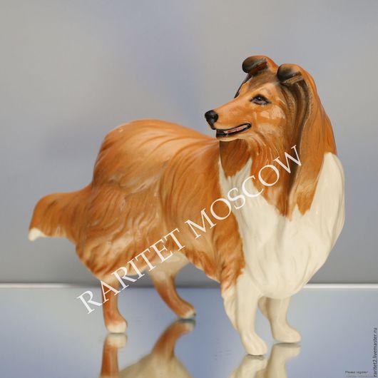 Винтажные предметы интерьера. Ярмарка Мастеров - ручная работа. Купить Собака колли ROYAL DOULTON Англия 36. Handmade. Разноцветный