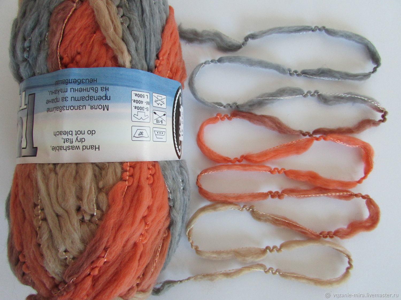 Yarn Merino wool thick hand-knitting, Yarn, ,  Фото №1