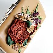 """Клатчи ручной работы. Ярмарка Мастеров - ручная работа Комплект Клатч """"Weekdays"""" и брошь. Handmade."""