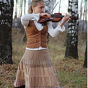 Одежда ручной работы. Ярмарка Мастеров - ручная работа Юбка Вивальди. Handmade.