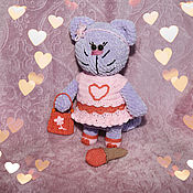 Мягкие игрушки ручной работы. Ярмарка Мастеров - ручная работа Кошка Муся. Handmade.
