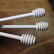 Посуда ручной работы. Ярмарка Мастеров - ручная работа Палочки для меда. Handmade.