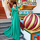 Dresses handmade. Livemaster - handmade. Buy Winter dress Malachite.Wool, green dress, dududress, pretty dress, knitwear