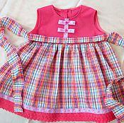 """Работы для детей, ручной работы. Ярмарка Мастеров - ручная работа платье """"Кантри"""". Handmade."""