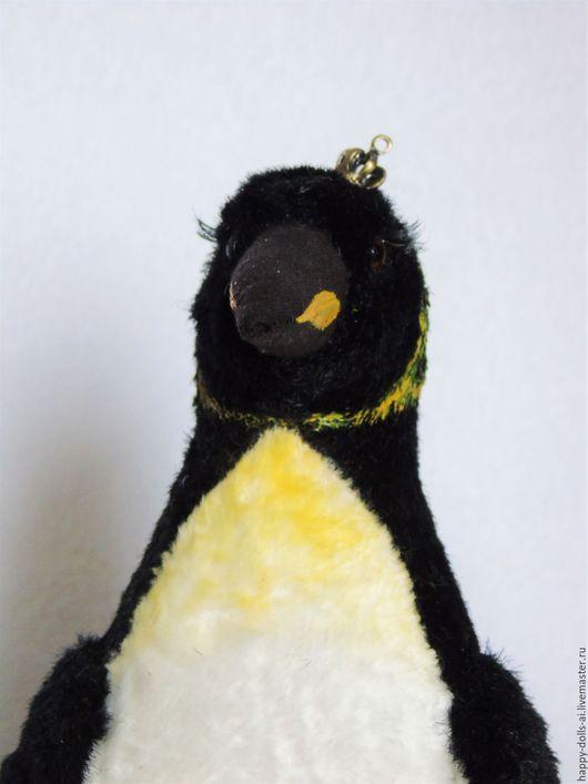 Игрушки животные, ручной работы. Ярмарка Мастеров - ручная работа. Купить Пингвин императорский. Handmade. Чёрно-белый, плюшевая игрушка