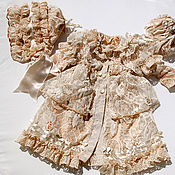 Материалы для творчества ручной работы. Ярмарка Мастеров - ручная работа Выкройка летнего пальто на подкладке для куклы. Handmade.