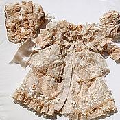 Материалы для творчества handmade. Livemaster - original item pattern summer coat lined for dolls. Handmade.