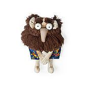 Мягкие игрушки ручной работы. Ярмарка Мастеров - ручная работа Мягкие игрушки: Дед Пихто. Handmade.