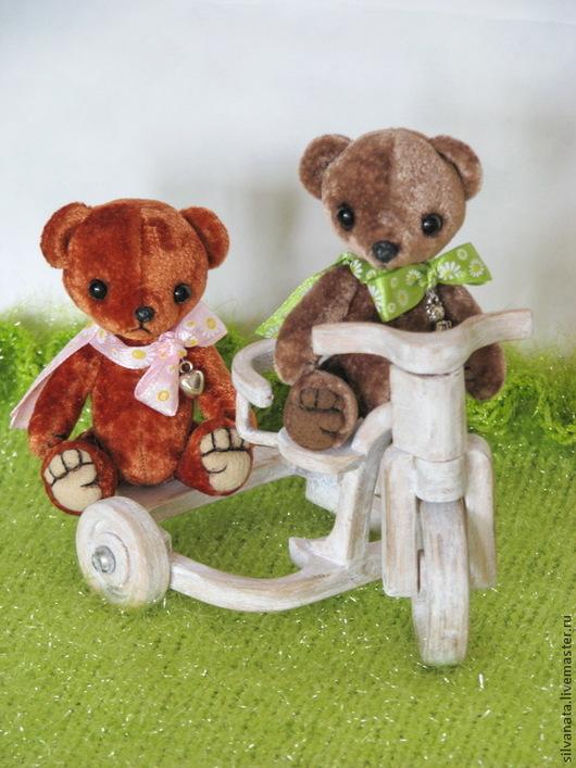Мишки Тедди ручной работы. Ярмарка Мастеров - ручная работа. Купить Мишки тедди-мини-8см.. Handmade. Оранжевый