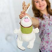 """Куклы и игрушки ручной работы. Ярмарка Мастеров - ручная работа Зайка """"Фисташка"""". Handmade."""