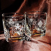 Посуда handmade. Livemaster - original item A set of glasses