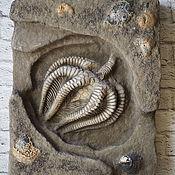 Картины ручной работы. Ярмарка Мастеров - ручная работа Панно морская лилия. Handmade.