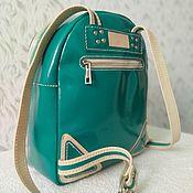 Сумки и аксессуары handmade. Livemaster - original item Backpack leather. Handmade.