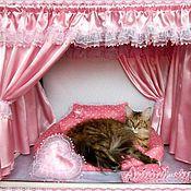 """Для домашних животных, ручной работы. Ярмарка Мастеров - ручная работа """"Розовый бриллиант"""" Оформление выставочной палатки. Handmade."""
