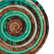 Аксессуары ручной работы. Ярмарка Мастеров - ручная работа Украшение на шею Lasso Island вязаное колье шарф бусы. Handmade.