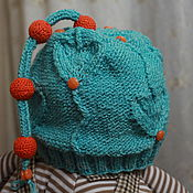 Работы для детей, ручной работы. Ярмарка Мастеров - ручная работа Детская шапочка на весну. Handmade.
